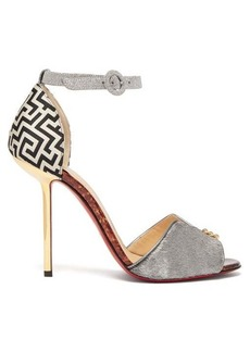 Christian Louboutin Notte Bella 100 leather sandals