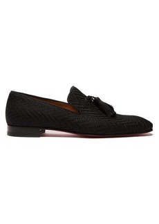 Christian Louboutin Officialito woven tassel loafers