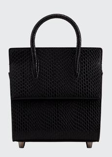 Christian Louboutin Paloma Lizard-Print Mini Tote Bag