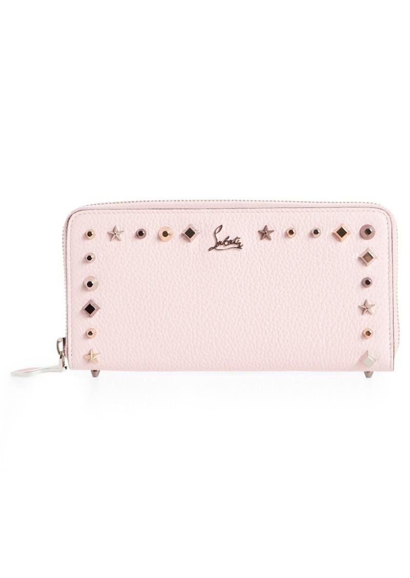 Panettone Studded Calfskin Wallet