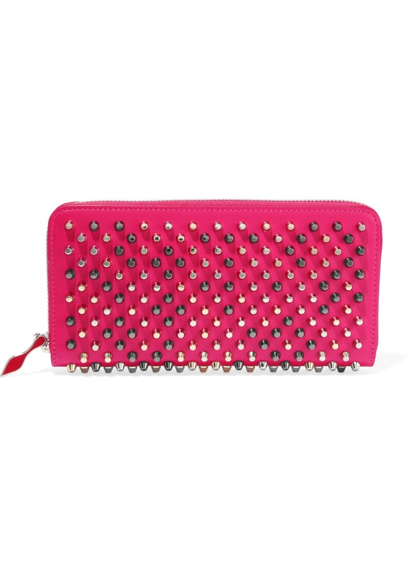 165c7dee822 Panettone Studded Leather Continental Wallet