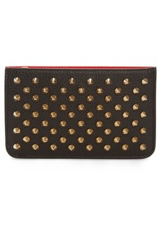 Christian Louboutin Panettone Studded Leather Key Case