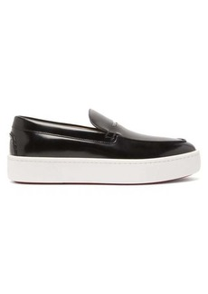 Christian Louboutin Paqueboat leather deck shoes