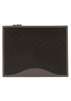 Christian Louboutin Pifpouch grained-leather zip pouch