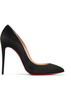 Christian Louboutin Pigalle Follies 100 Suede Pumps