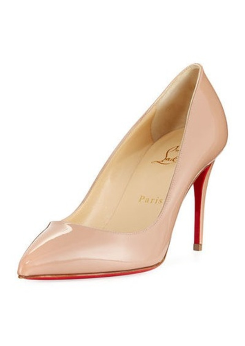 Christian Louboutin Pigalle Follies 85mm Patent Red Sole Pumps