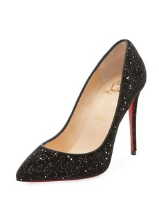 Christian Louboutin Pigalle Follies Galactic Red Sole Pumps