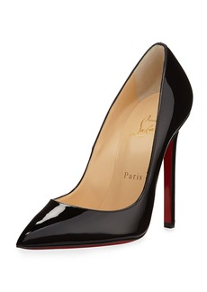 Christian Louboutin Pigalle Patent Leather Red Sole Pump