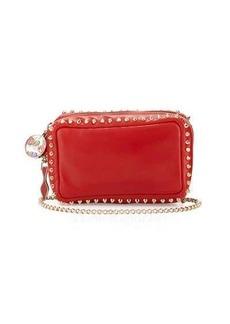Christian Louboutin Piloutin Studded Wristlet Clutch Bag