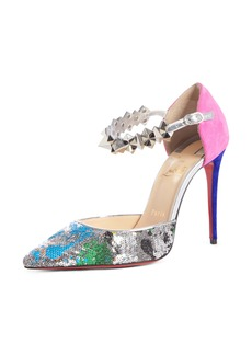 Christian Louboutin Planet Chic Embellished d'Orsay Pump (Women)
