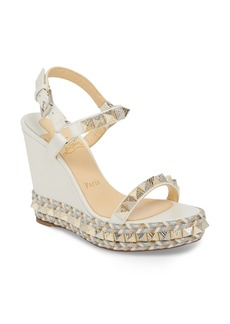 Christian Louboutin Pyraclou Wedge Sandal (Women)