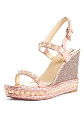 Christian Louboutin Pyradiams Platform Wedge Sandal (Women)