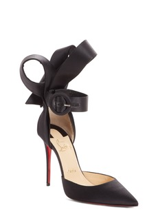 Christian Louboutin Raissa Bow Ankle Strap Pump (Women)