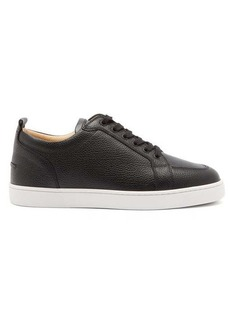 Christian Louboutin Rantulow grained-leather trainers