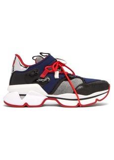 Christian Louboutin Red Runner neoprene trainers