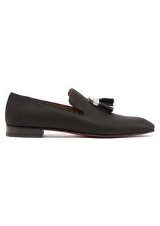Christian Louboutin Rivalion jacquard loafers