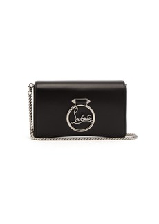 Christian Louboutin Rubylou leather clutch bag
