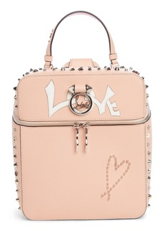 Christian Louboutin Rubylou Love Leather Backpack