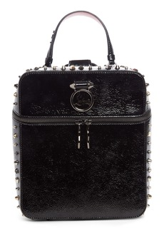 Christian Louboutin Rubylou Patent Leather Backpack