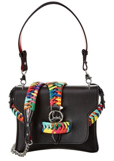Christian Louboutin Rubylou Small Braided Leather Shoulder Bag