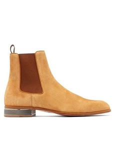 Christian Louboutin Samsocool suede Chelsea boots