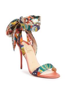 Christian Louboutin Sandale du Desert Ankle Wrap Sandal (Women)