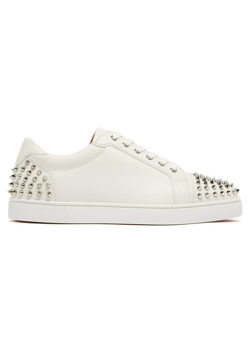 reputable site 3e973 49f94 Seavaste 2 spiked leather low-top trainers
