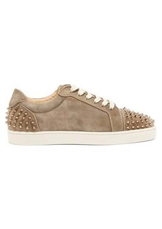 Christian Louboutin Seavaste 2 spiked leather trainers