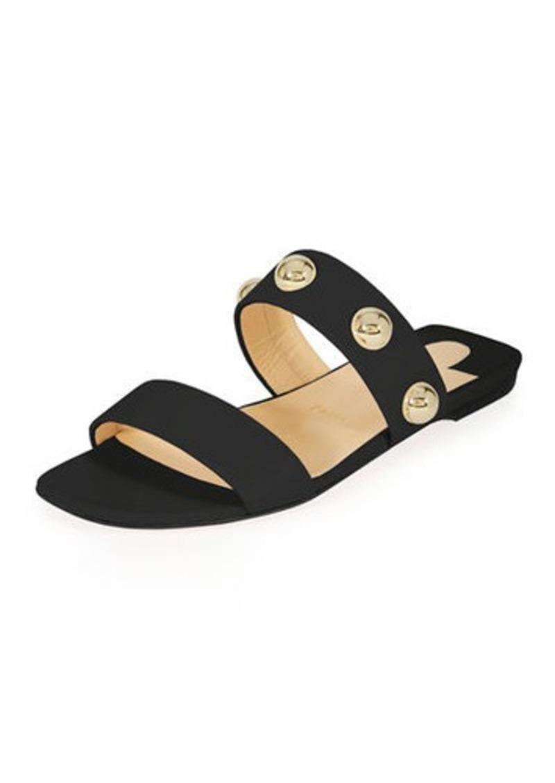 Flat Slide Red Sole Sandal Napa Simple Bille LVSMpGzqUj