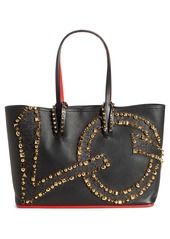 Christian Louboutin Small Cabata Love Calfskin Leather Tote
