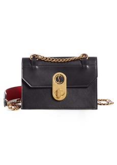 Christian Louboutin Small Elisa Calfskin Leather Shoulder Bag