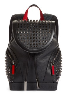Christian Louboutin Small ExploraFunk Empire Studded Leather Backpack