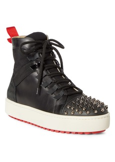 Christian Louboutin Smartic Spike High Top Sneaker (Men)