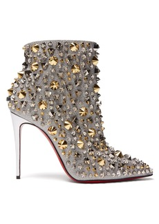 Christian Louboutin So Full Kate 100 stud-embellished ankle boots
