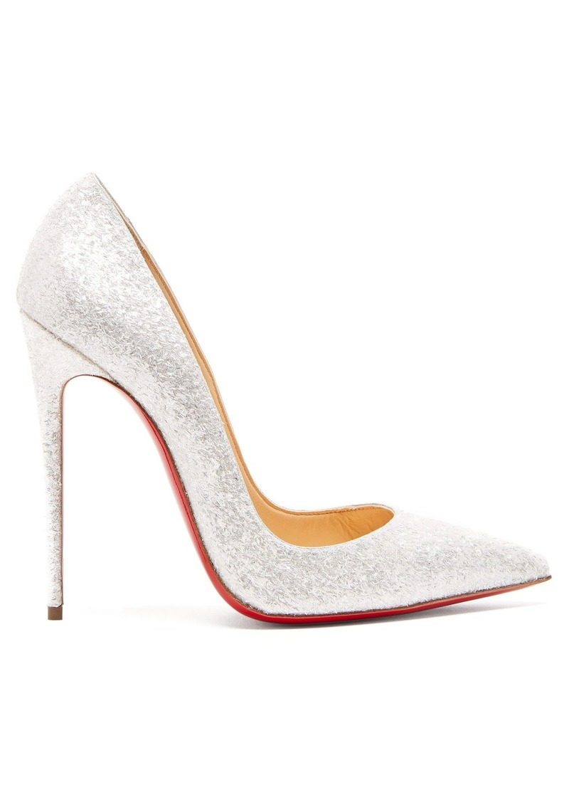 newest collection 9bde2 0bf09 So Kate 120 glittered leather pumps