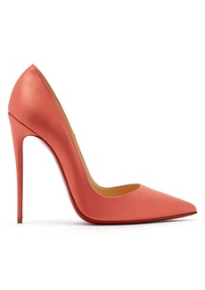 Christian Louboutin So Kate 120 satin pumps
