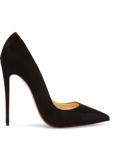 Christian Louboutin So Kate 120 Suede Pumps