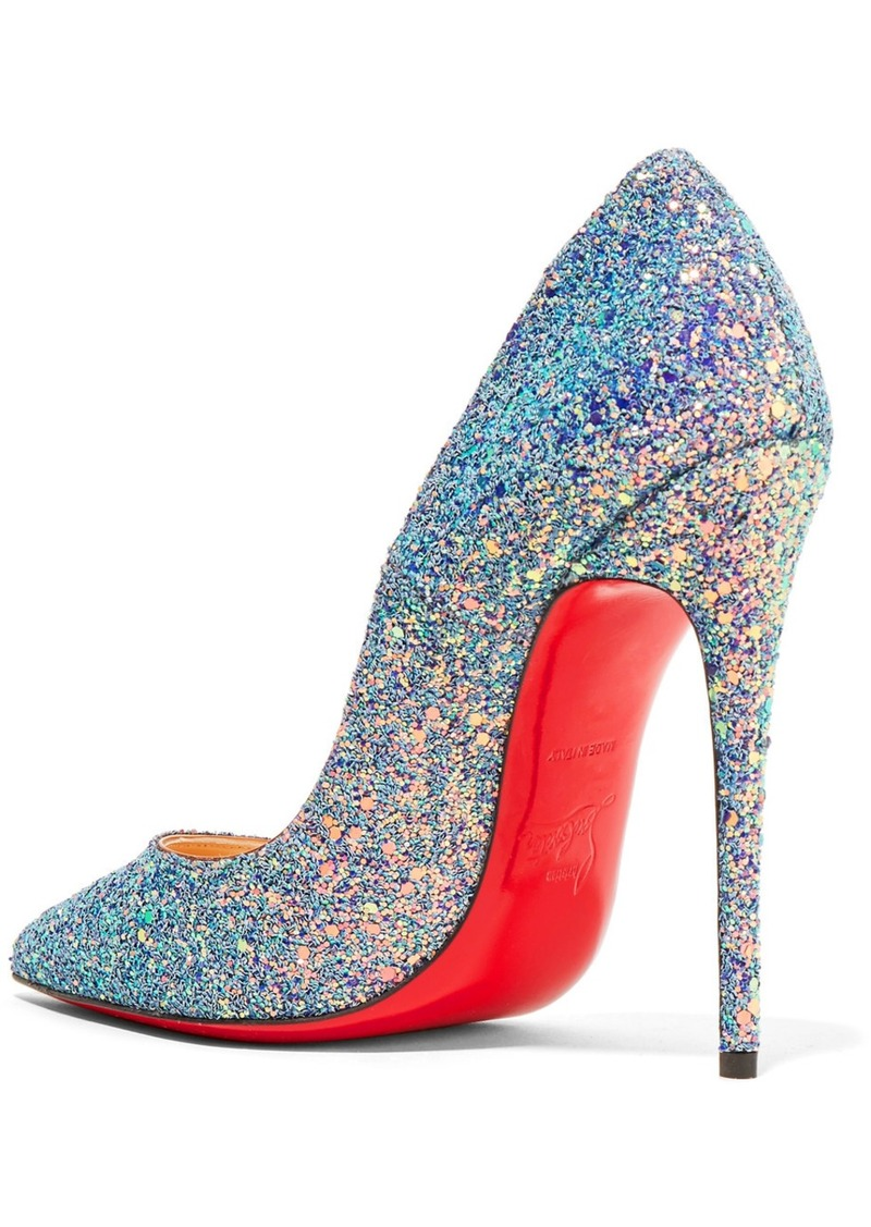 separation shoes 0ecf5 d3963 Christian Louboutin Christian Louboutin So Kate Dragonfly 120 glittered  leather pumps   Shoes