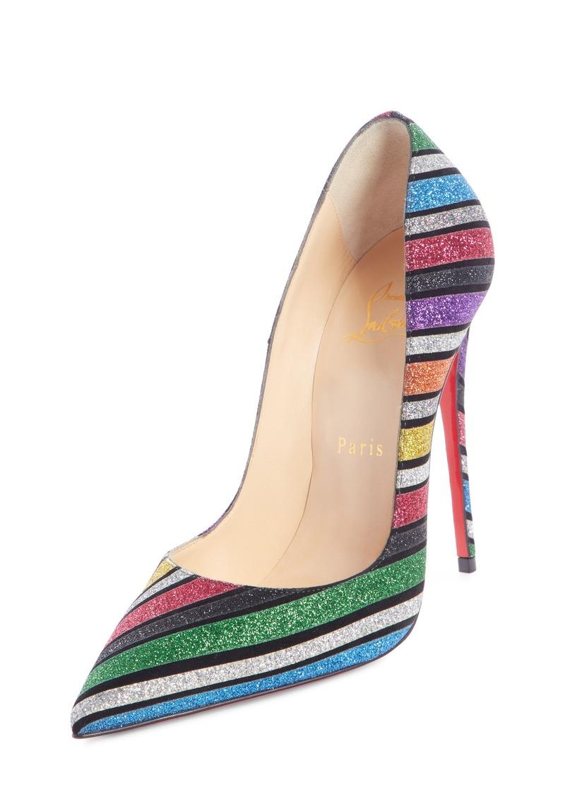 best sneakers c900a b10f5 So Kate Glitter Stripe Pump (Women)