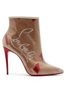 separation shoes d3a40 cd650 Christian Louboutin So Kate Kraft 100 Loubi-print ankle boots