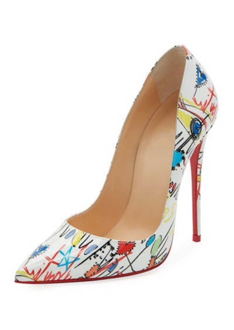 separation shoes b5775 aa78d So Kate Loubitag Red Sole Pump
