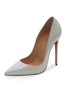 Christian Louboutin So Kate Patent 120mm Red Sole Pump
