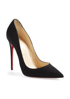 Christian Louboutin 'So Kate' Pointy Toe Suede Pump