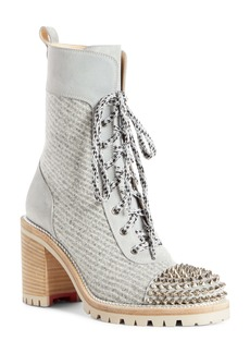 Christian Louboutin Spike Cap Toe Boot (Women)