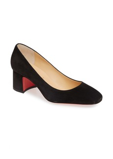 Christian Louboutin Square Toe Pump (Women)