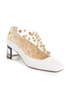 Christian Louboutin Studded Clear Pump (Women)