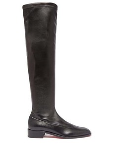 Christian Louboutin Theophila over-the-knee leather boots