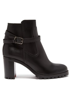 Christian Louboutin Trapeurdekoi 70 leather ankle boots