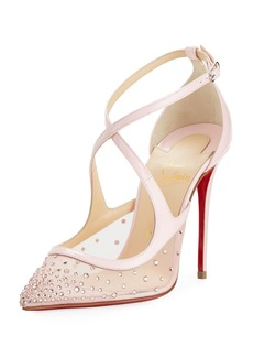 Christian Louboutin Twistissima Crisscross Red Sole Pump