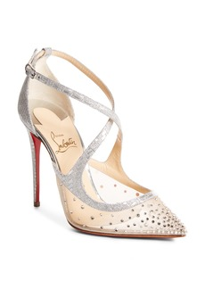 Christian Louboutin Twistissima Embellished Pump (Women)